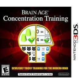 Nintendo 3DS Brain Age: Concentration Training (CiB)