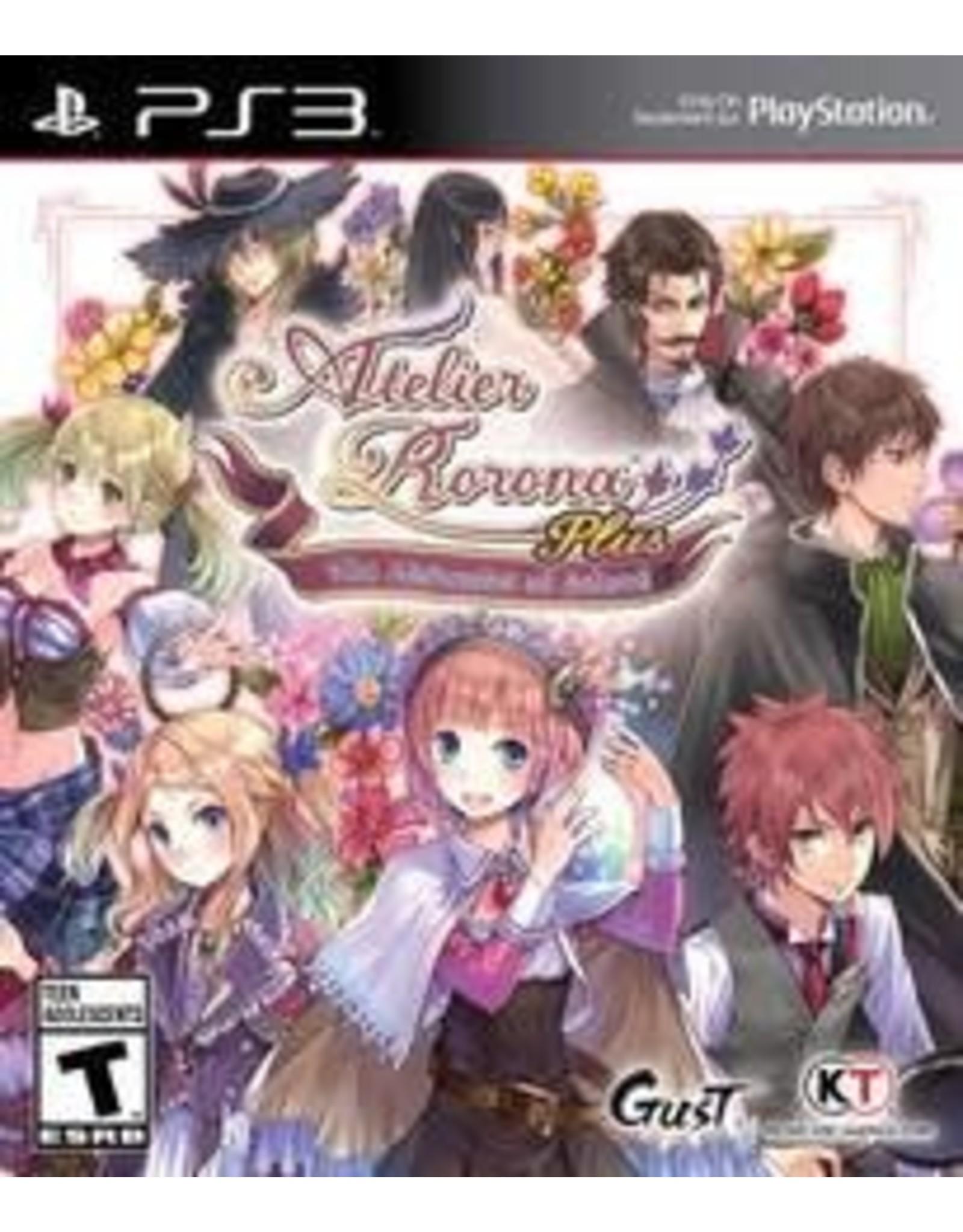 Playstation 3 Atelier Rorona Plus: The Alchemist of Arland (CiB)