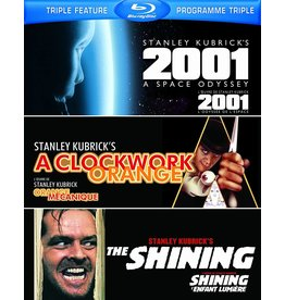 Cult and Cool 2001 A Space Odyssey / A Clockwork Orange / The Shining Triple Feature