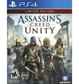 Playstation 4 Assassin's Creed Unity Limited Edition (No DLC)