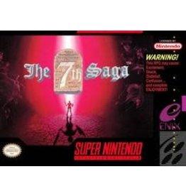 Super Nintendo 7th Saga (CiB, Includes Map!)