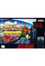 Super Nintendo Aerobiz Supersonic (CiB, Includes Poster!)