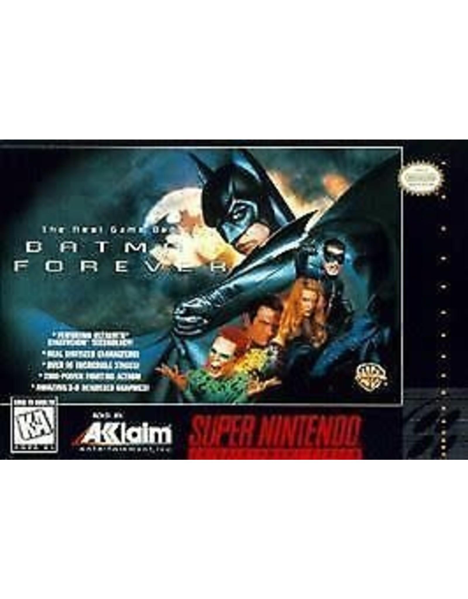 Super Nintendo Batman Forever (CiB)