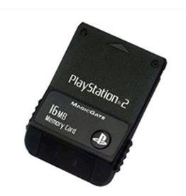 Playstation 2 Playstation 2 PS2 16MB Memory Card (OEM, USED)