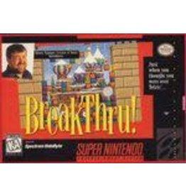 Super Nintendo BreakThru (CiB)