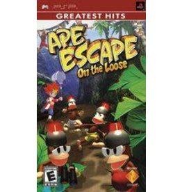 PSP Ape Escape On the Loose (Greatest Hits, CiB)