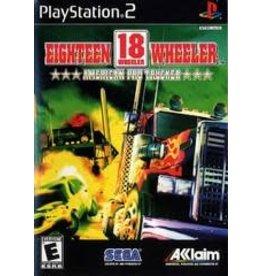 Playstation 2 18 Wheeler American Pro Trucker (CiB)