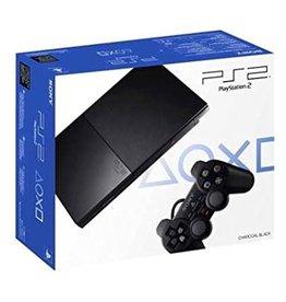 Playstation 2 Slim Playstation 2 System (Black, With Memory Card, CiB)