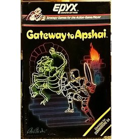 Commodore 64 Gateway to Apshai (Cart Only, Minor Label Damage)