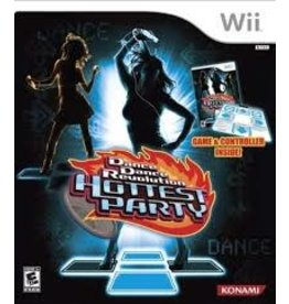 Wii Dance Dance Revolution Hottest Party Bundle (New)