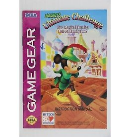 Sega Game Gear Mickey's Ultimate Challenge (Cart Only)