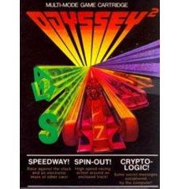 Odyssey 2 Speedway! / Spinout! / Crypto-Logic! (CiB)