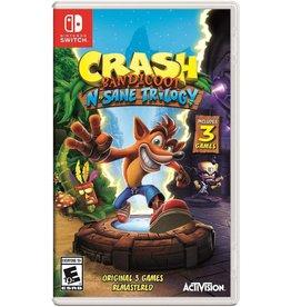 Nintendo Switch Crash Bandicoot N. Sane Trilogy (Used)