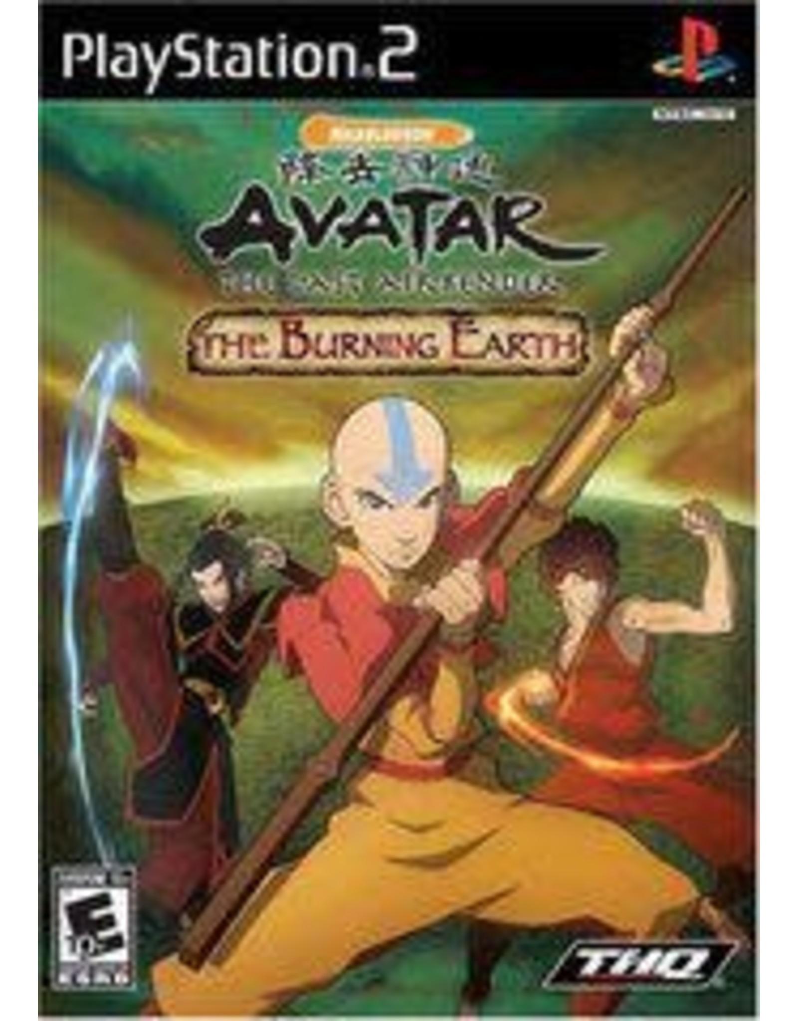 Playstation 2 Avatar The Last Airbender The Burning Earth (CiB))