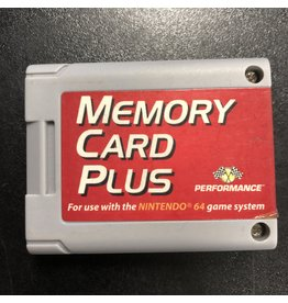 Nintendo 64 N64 Memory Card Plus (Performance)