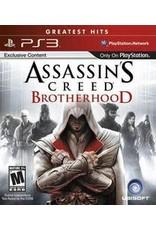 Playstation 3 Assassin's Creed: Brotherhood (Greatest Hits, CiB)