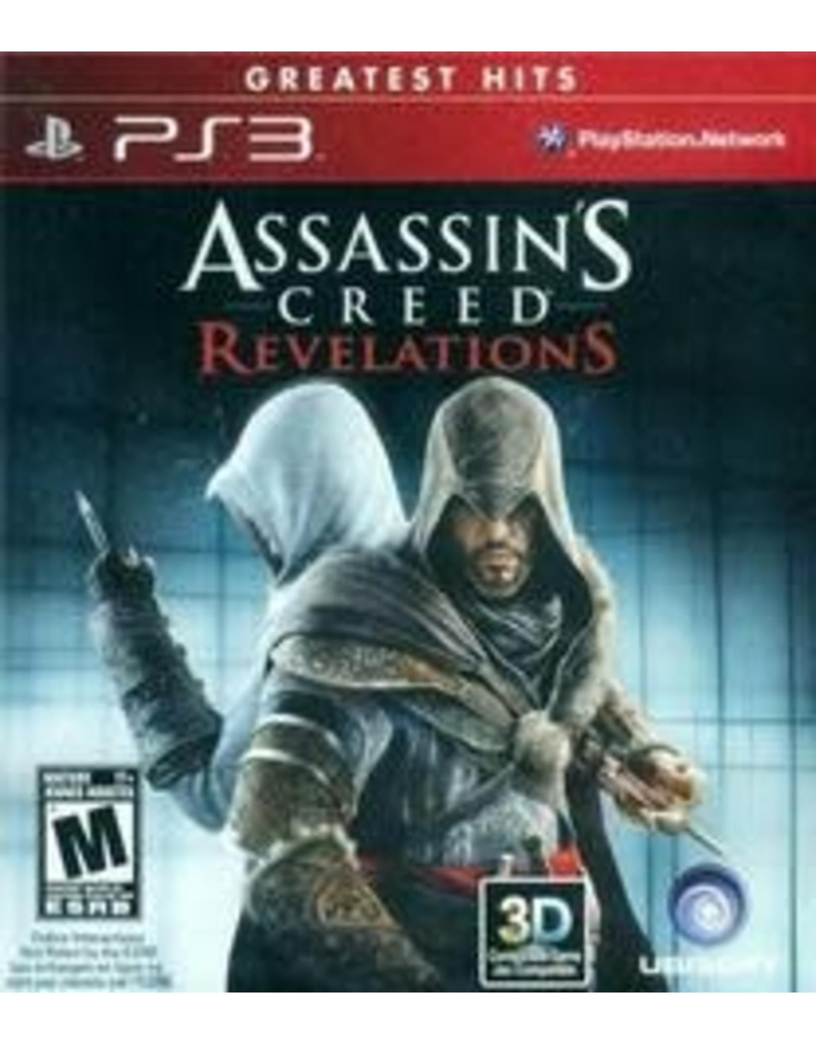 Playstation 3 Assassin's Creed Revelations (Greatest Hits, CiB)