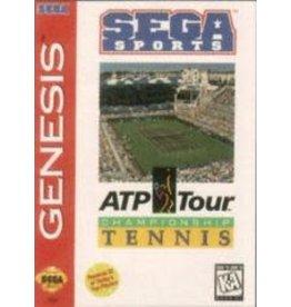 Sega Genesis ATP Tour Championship Tennis (Cart, Manual, Cut Box)
