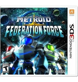 Nintendo 3DS Metroid Prime Federation Force (New, Sealed)