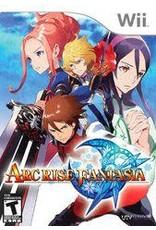 Wii Arc Rise Fantasia (CiB, Damaged manual)