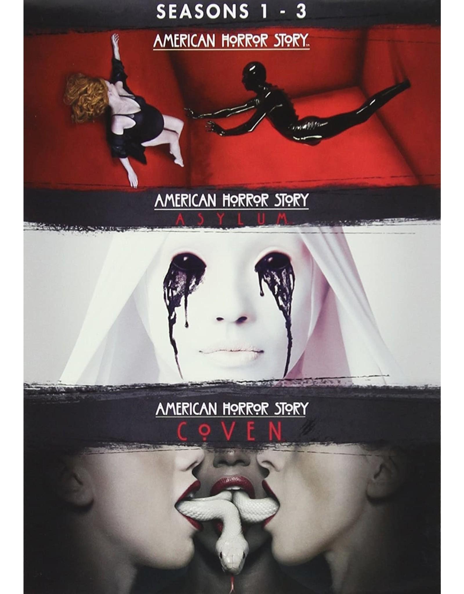 Horror Cult American Horror Story Seasons 1 - 3 (Brand New)
