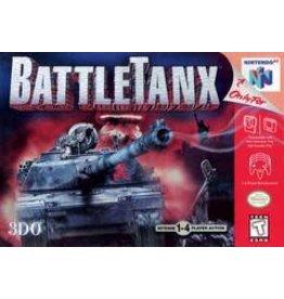 Nintendo 64 Battletanx (Cart Only, Damaged Label)