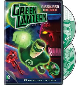 Animated Green Lantern The Animated Series - Rise of the Red Lanterns