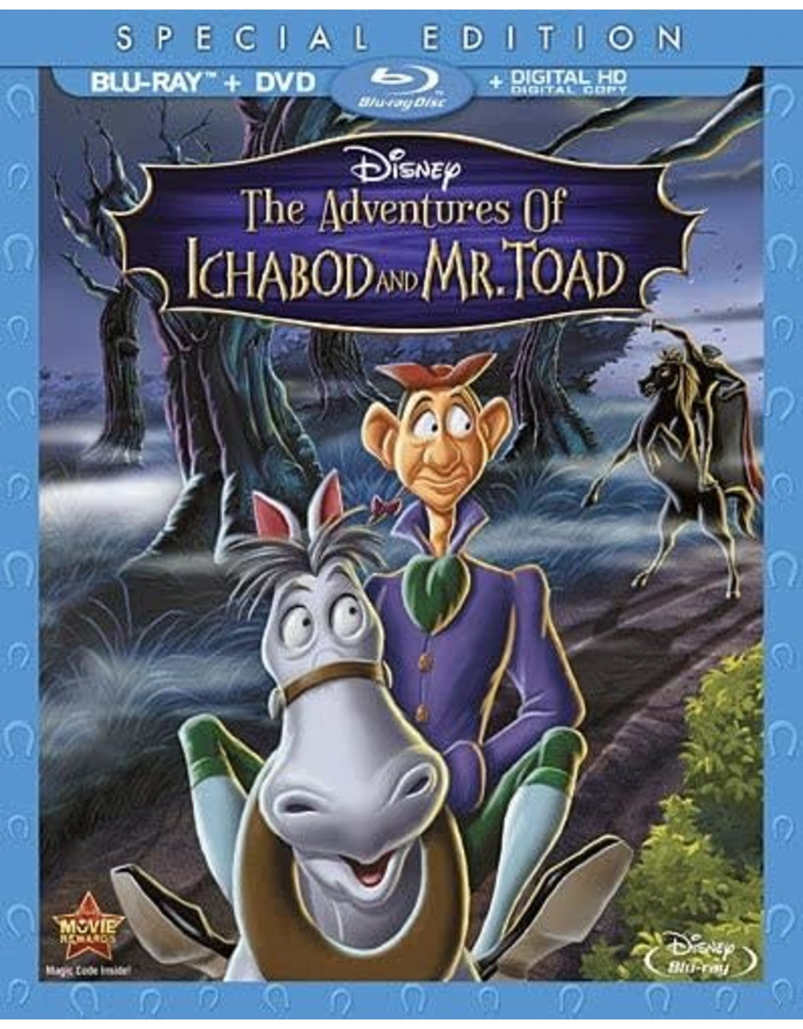 Disney Adventures of Ichabod and Mr. Toad, The - Special Edition (Brand New)