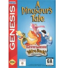Sega Genesis A Dinosaur's Tale (Boxed, No Manual)