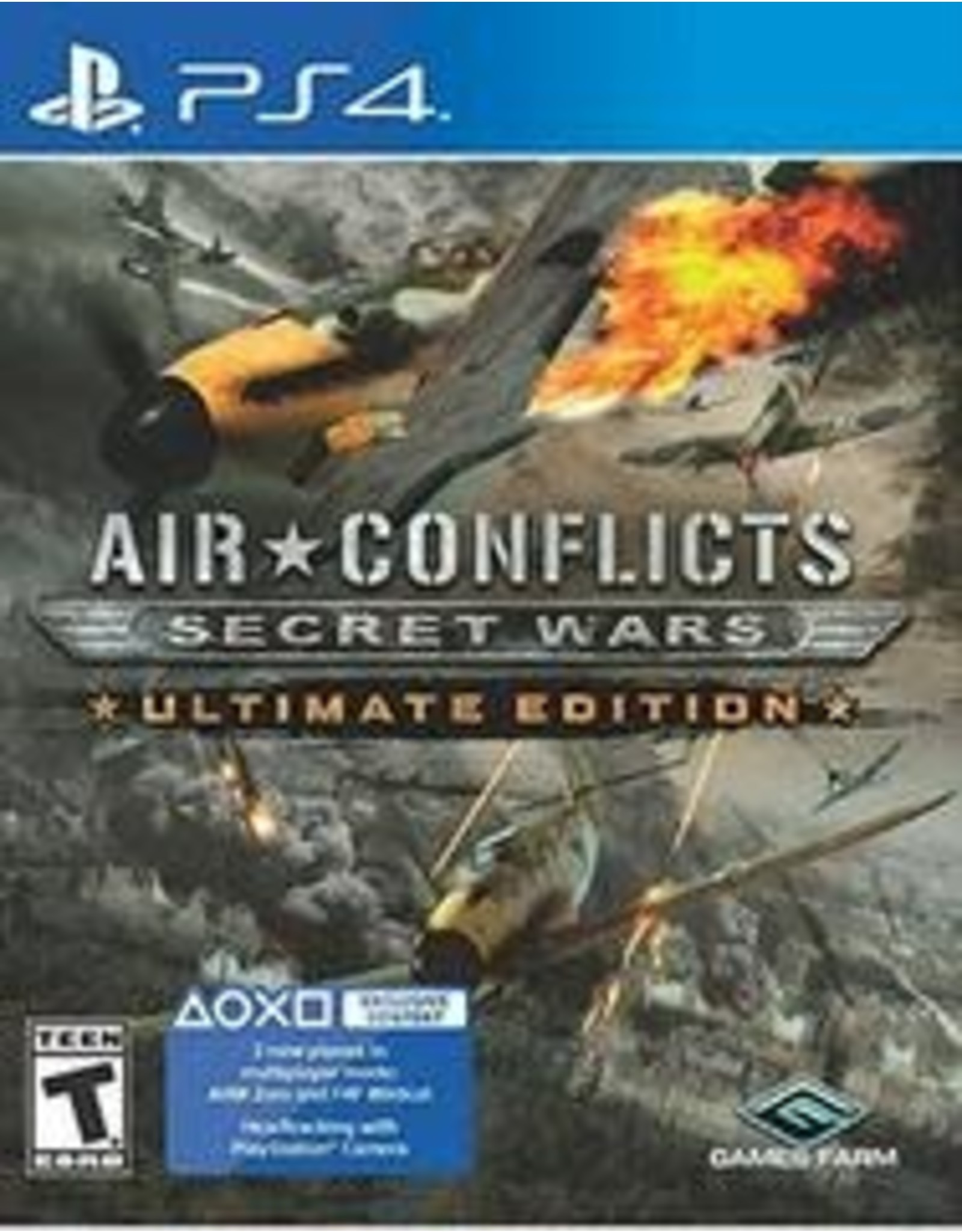 Playstation 4 Air Conflicts: Secret Wars (CiB)