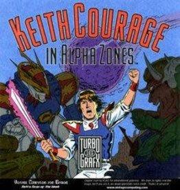 TurboGrafx-16 Keith Courage in Alpha Zones (Case, No Manual)