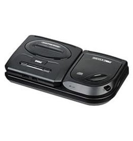 Sega CD Sega CD Model 2 + Genesis Console w/ 3 Button Genesis Controller (USED)