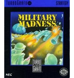 TurboGrafx-16 Military Madness (Cart Only)