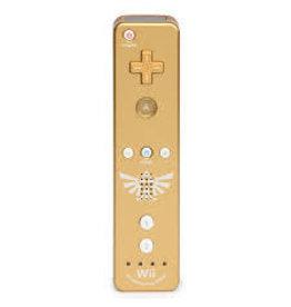 Wii Zelda Gold Wii Remote (Used)
