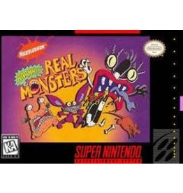 Super Nintendo AAAHH Real Monsters (Cart Only, Discolored Cartridge )