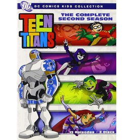 Animated Teen Titans The Complete Second Season (Brand New)
