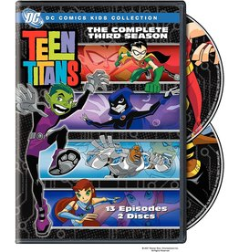Animated Teen Titans The Complete Third Season (Brand New)