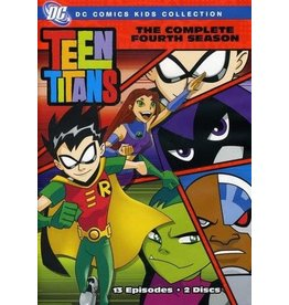 Animated Teen Titans The Complete Fourth Season (Brand New)