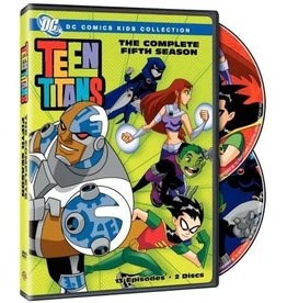 Animated Teen Titans The Complete Fifth Season (Brand New)