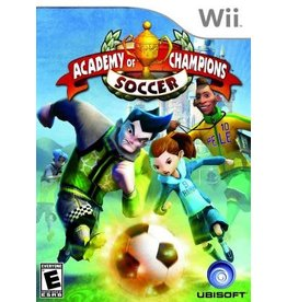 Wii Academy of Champions Soccer (No Manual)