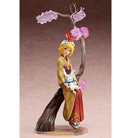 Snowmiku Vocaloid Kagamine Rin (Hanairogoromo Version) 1:8 Scale PVC Figure
