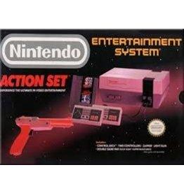 NES Nintendo NES Action Set Console (CiB)