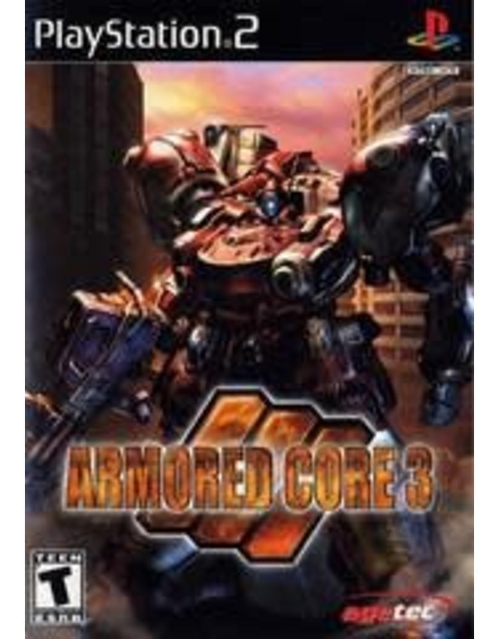 Playstation 2 Armored Core 3 (CiB)
