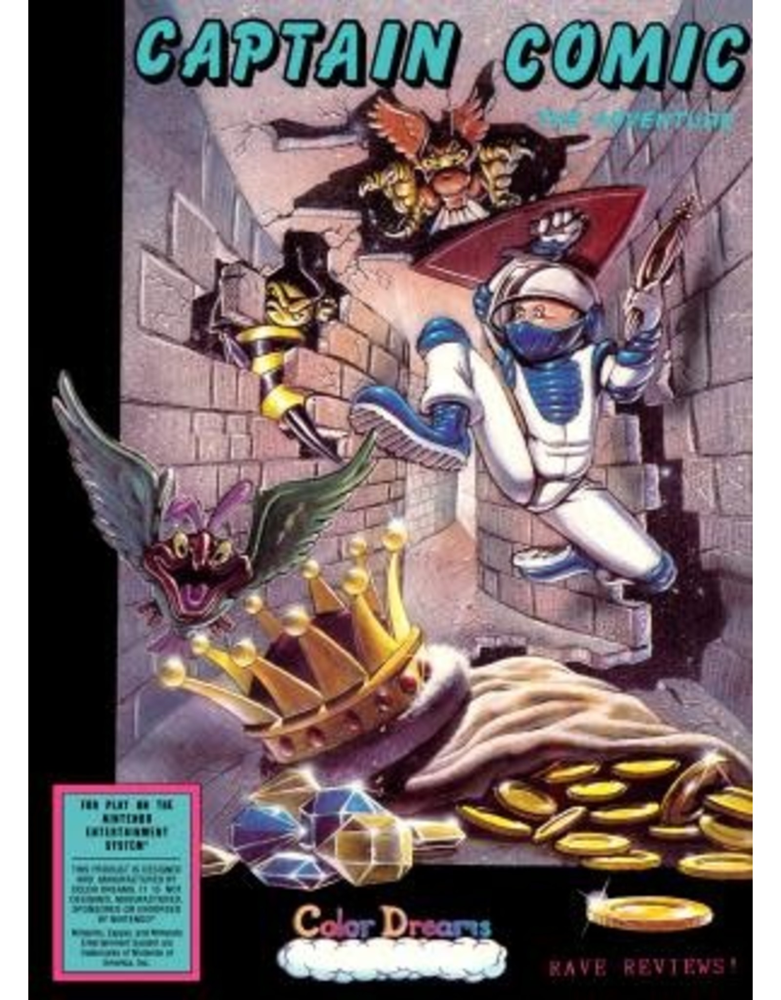 NES Adventures of Captain Comic (Cart Only)