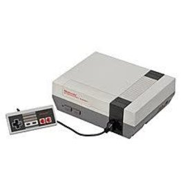 NES Nintendo NES Console Bundle (2 Controllers, Mario & Duck Hunt, Rocket Ranger Game Carts Included)