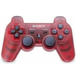 Playstation 3 PS3 Playstation 3 Dualshock 3 Controller (Clear Red)