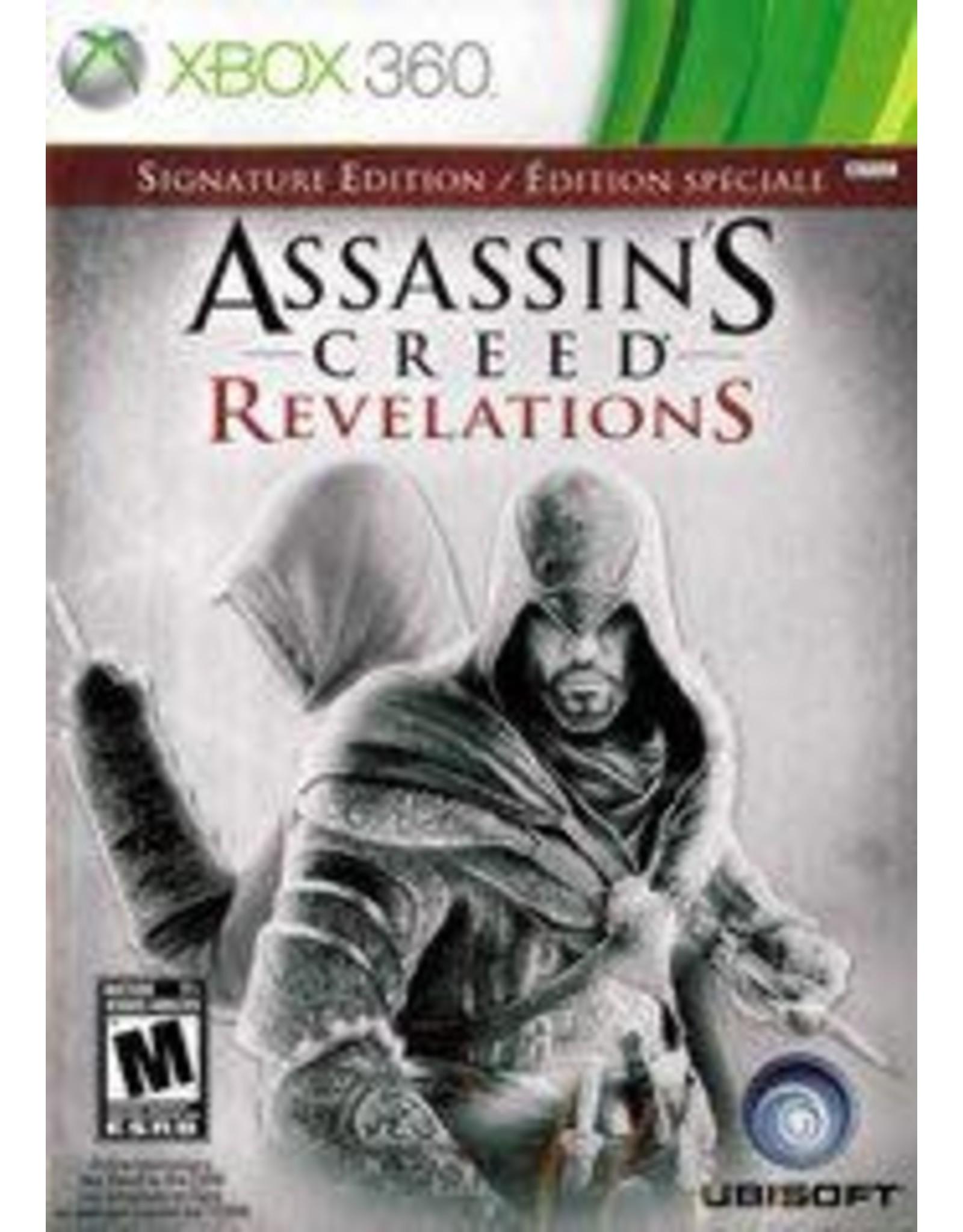 Xbox 360 Assassin's Creed Revelations: Signature Edition (CiB, No DLC)