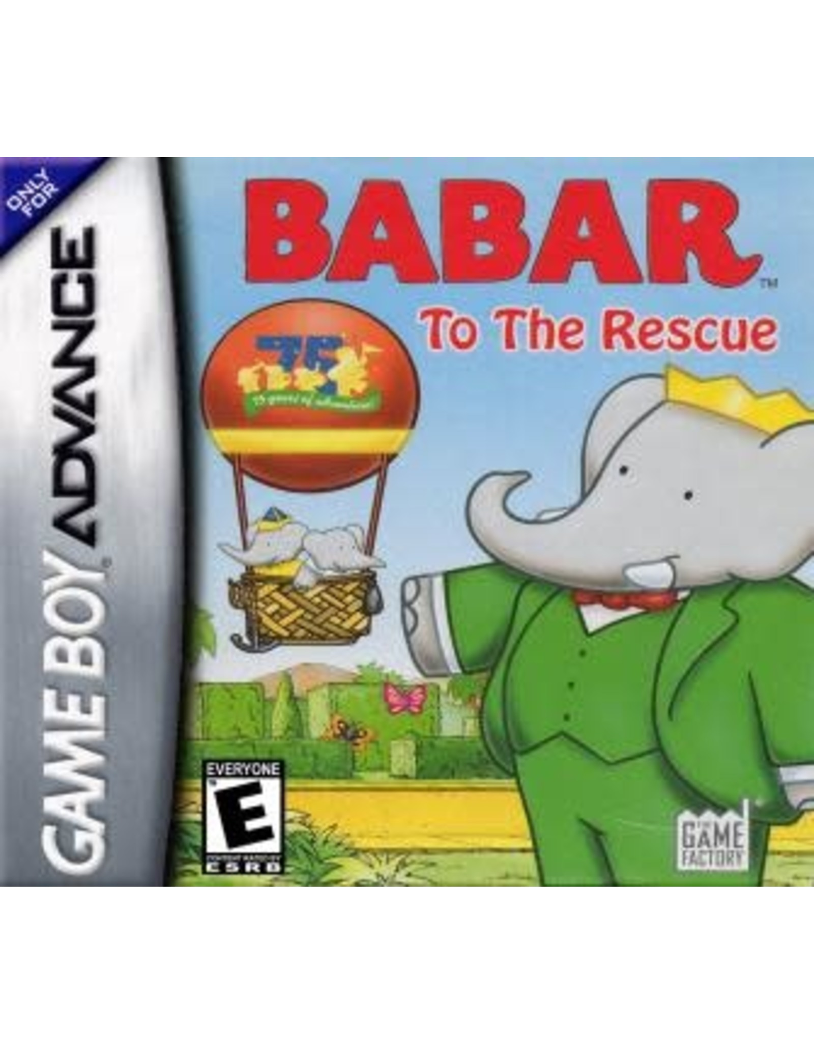 GameBoy Advance Babar: To the Rescue (Cart Only)