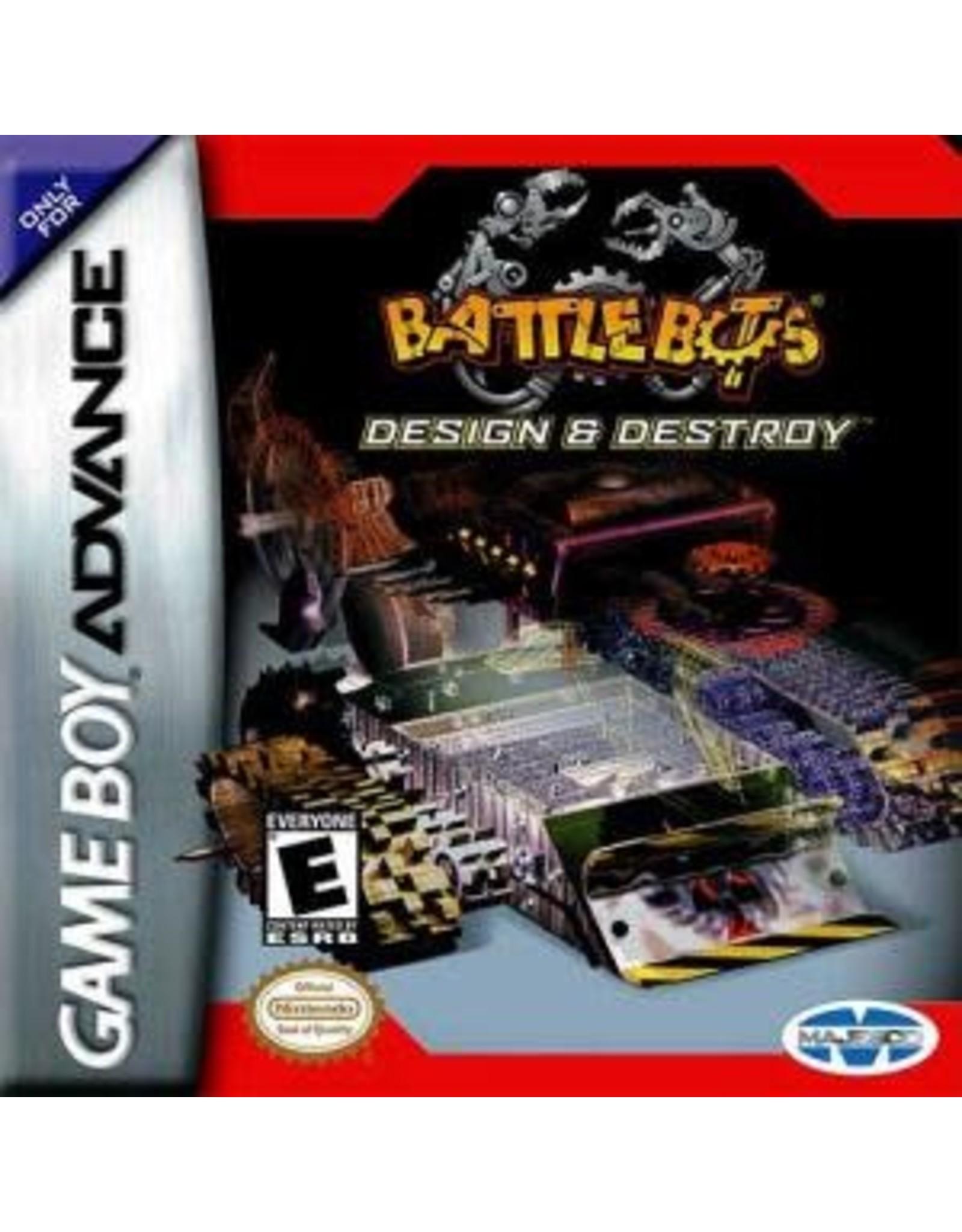 GameBoy Advance Battlebots Design and Destroy (Cart Only)