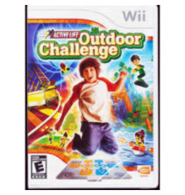 Wii Active Life Outdoor Challenge (No Manual) *Active Life Mat Required*